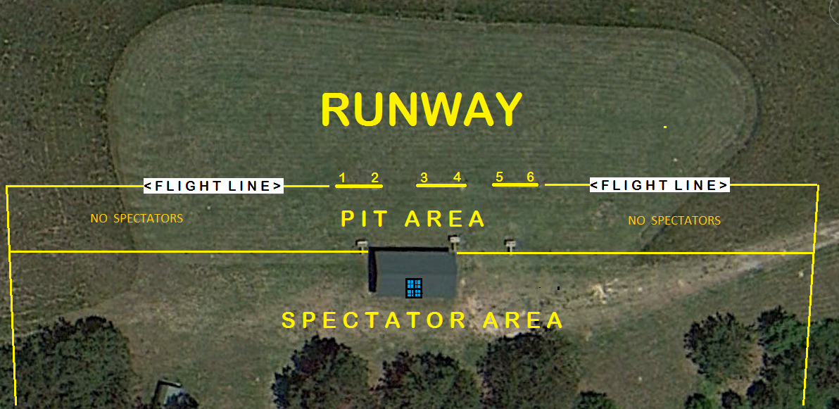 Fayette Flyers Main Runway Areas